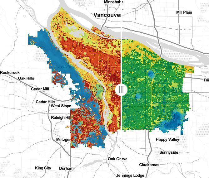 Urban Heat Island Interactive Map