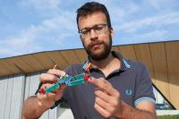 The Insect-Inspired Drone Can Deform Upon Impact
