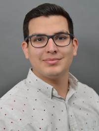 Graduate Student Raul Alfaro