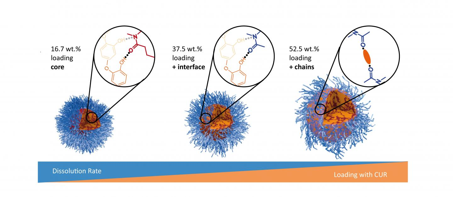 Loading-dependent Structural Model of Polymeric Micelles