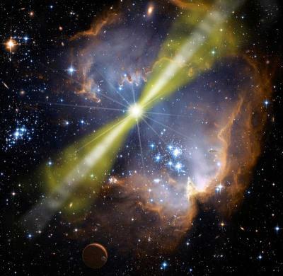 The 'Naked-Eye' Gamma-ray Burst
