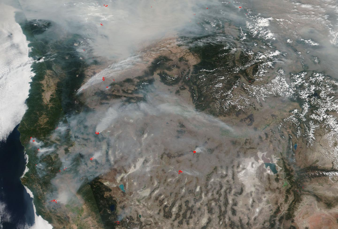 Fires Across the US