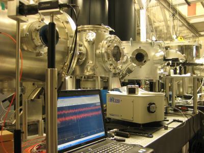 Laser Accelerator Set-up
