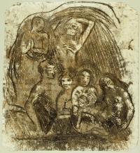 Cossairt: Gauguin Nativity