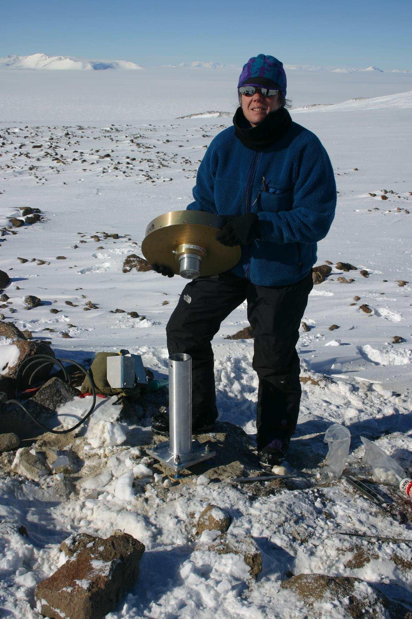 GPS Used to Discover Rise of Bedrock in Antarctica