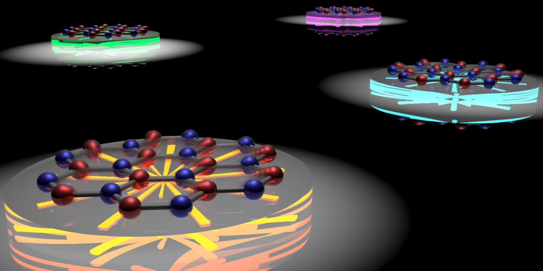 Spectral Tuning of Hexagonal Boron Nitride