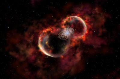 Massive Stars Made Elements in Early Universe