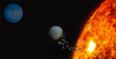 Star Ingesting Rocky Planet
