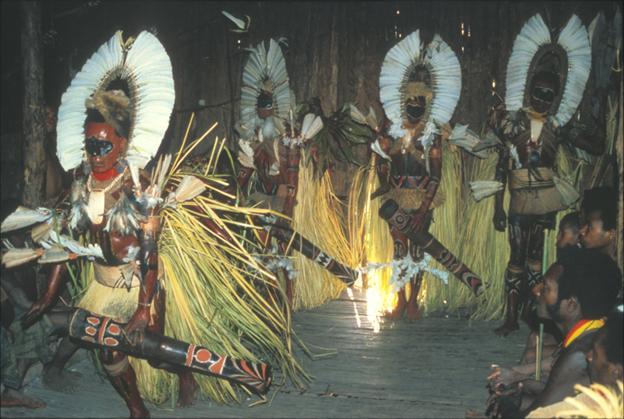Bosavi people in Papua New Guinea