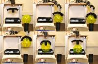 Robot Arm Tastes With Engineered Bacteria