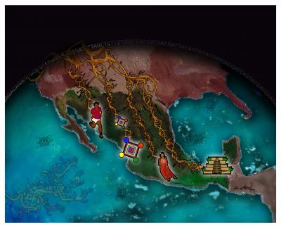 Pre-Hispanic History and Genetic Changes among Diverse Indigenous Mexican Populations