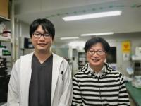 Yu Fujimura and Ken Natsuga