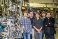 Zahid Hasan's Team During February 2019 Visit to Berkeley Lab's Advanced Light Source