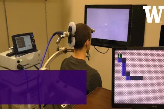 Virtual Game Playing via Direct Brain Stimulation