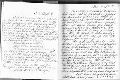 Vivian White Diary Entries - September 1992