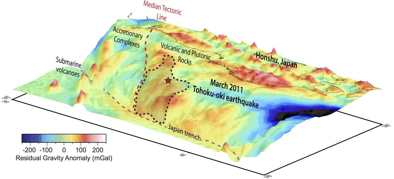 Gravity Data from Japan's 2011 Mega-Earthquake