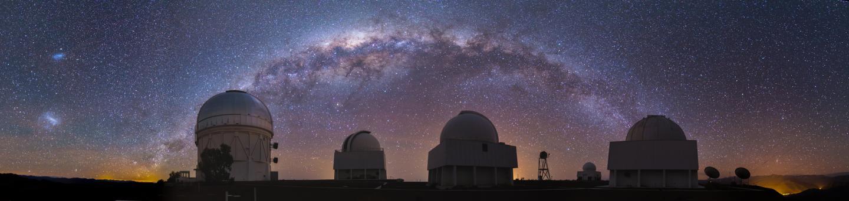 Milky Way over CTIO