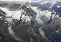 Argentiere Glacier 1919 to 2019