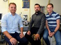 Christoph Klewe, Timo Kuschel, and Daniel Meier, Bielefeld University