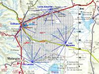 Pierre Auger Observatory Detector Map