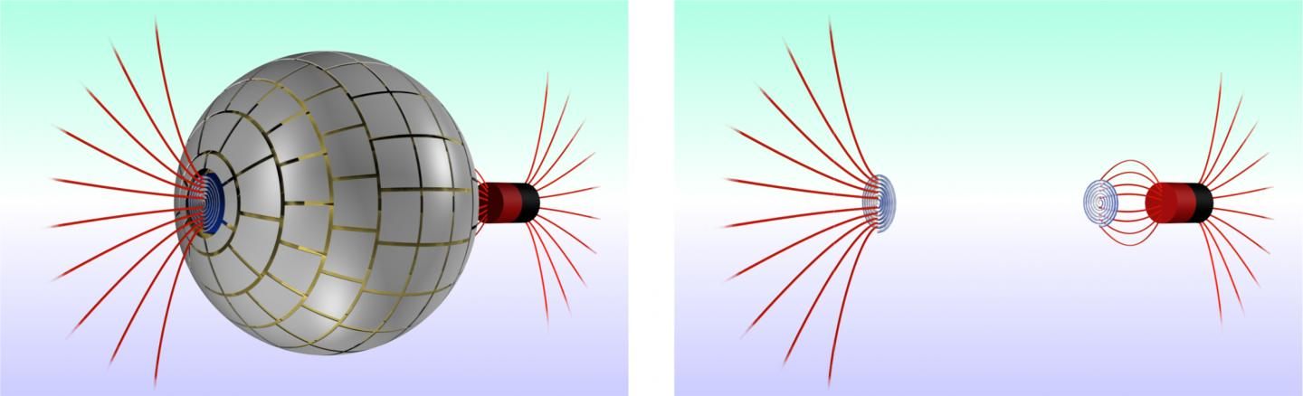 3-D Diagram of the Magnetic Wormhole