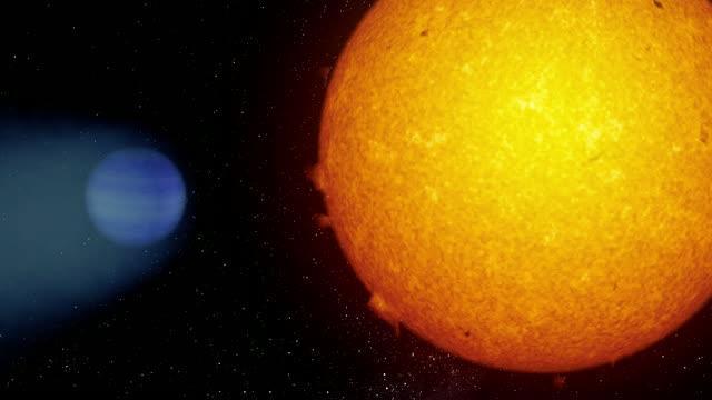 Giant Exoplanet WASP-69b Simulation