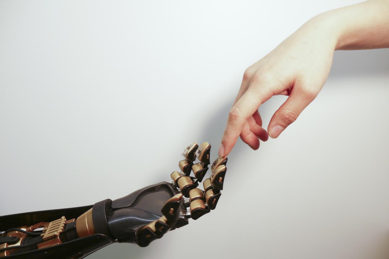 Artificial Skin, Hands Touching