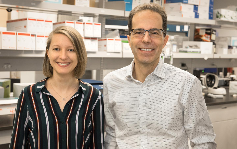 Dr. D.E. Kaufmann and Julia Niessl
