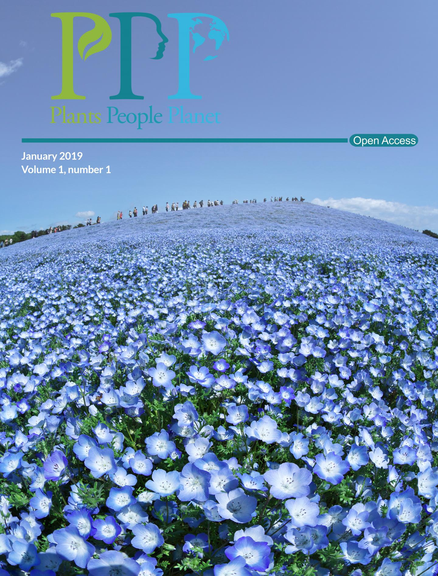 <i>Plants, People, Planet</i> Volume 1, Issue 1 Cover