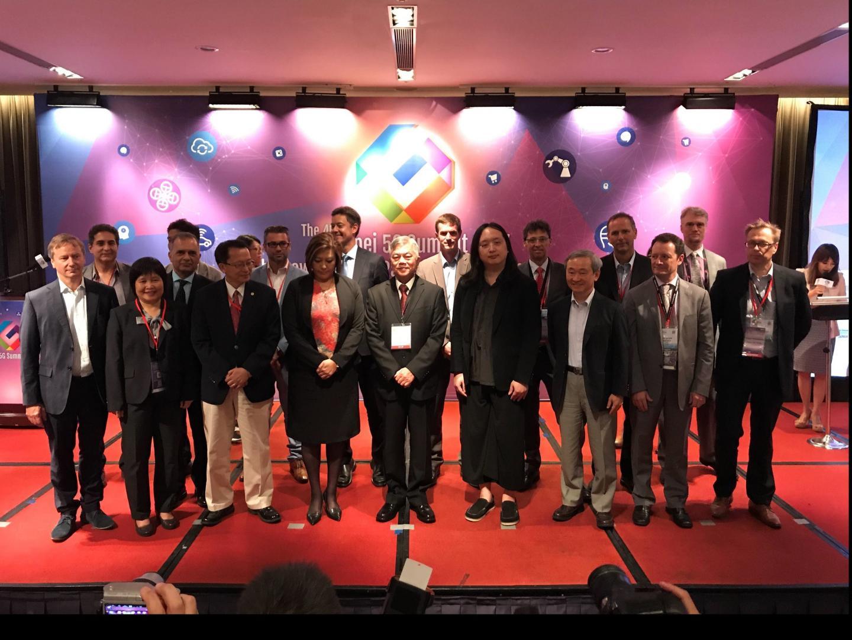 Invited Speakers at the Taipei 5G Summit 2017