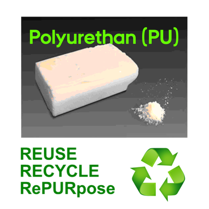New method for recycling Polyurethan (PU)