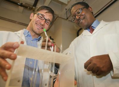 Aaron Socha and Jason Sello, Brown University