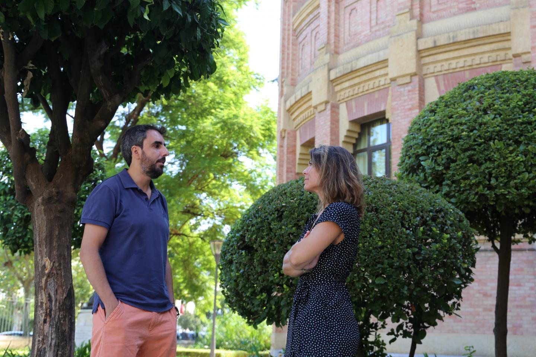 Alexandra Dubini and David González, University of Córdoba
