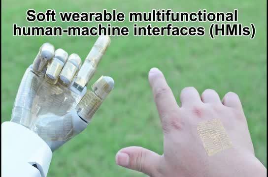 Wearable Human-Machine Interfaces