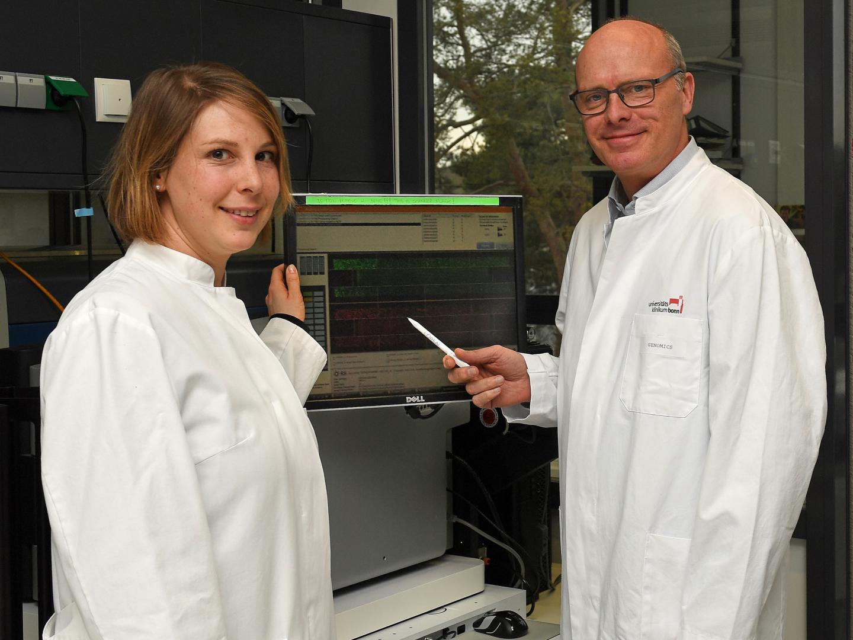 Stefanie Heilmann-Heimbach and Markus Nöthen, University of Bonn