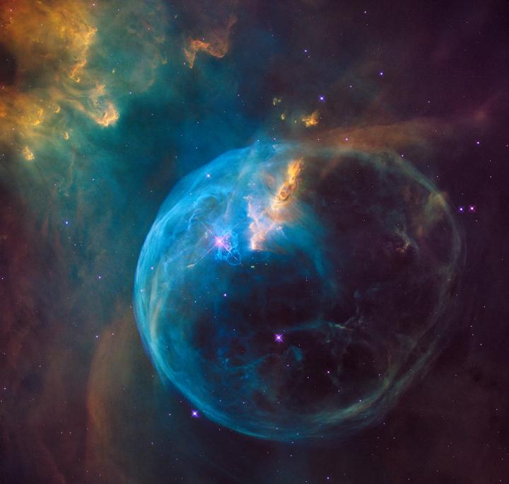 The Bubble Nebula, or NGC 7635
