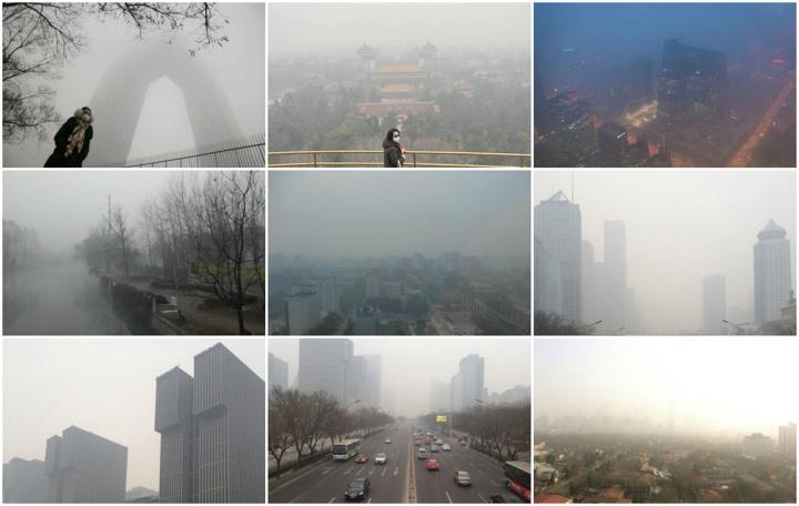 Polluted Scenes