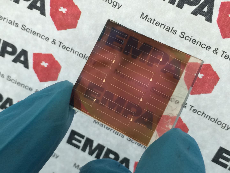 Semi-Transparent Perovskite Solar Cell