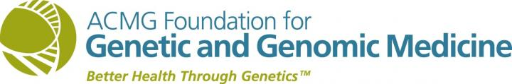 ACMG Foundation for Genetic and Genomic Medicine Logo
