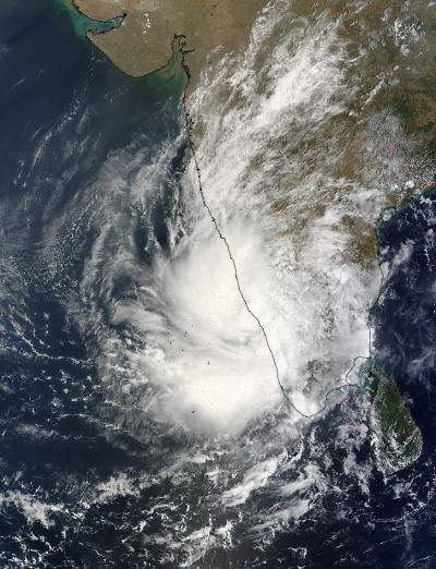 MODIS Image of 91B
