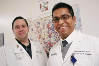 Drs. Jeffrey Browning and Richard Guerrero, UT Southwestern Medical Center
