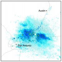 migrating bats radar Texas