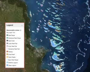 Geomorphic Map, Great Barrier Reef