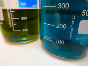Gentle acids used to extract metal ions