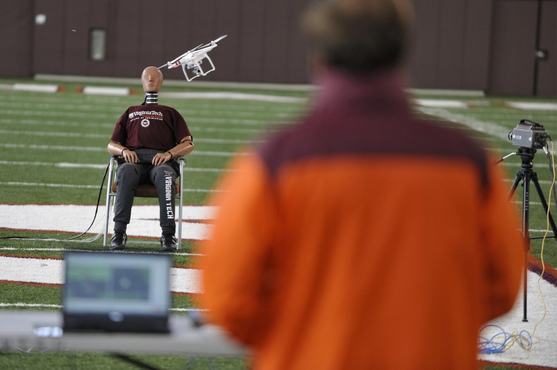 Drone-human Impact Study