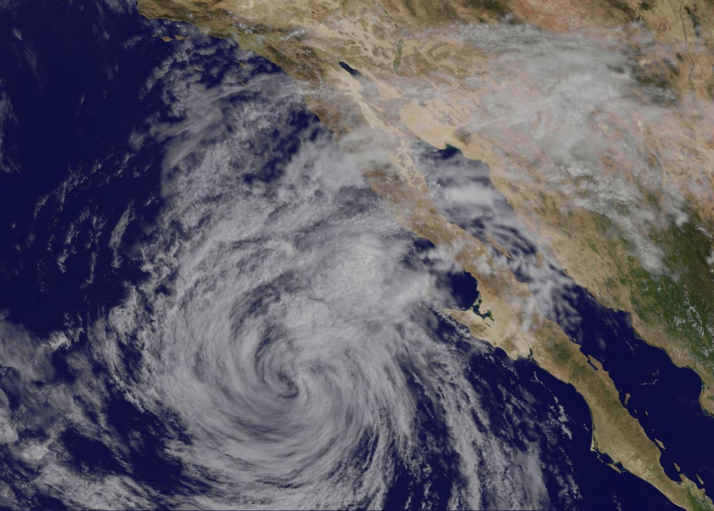 GOES-West Image of Linda