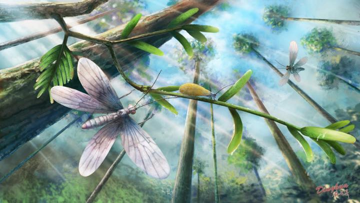 Ecological Restoration of Moths in the Cretaceous Burmese Amber Forest