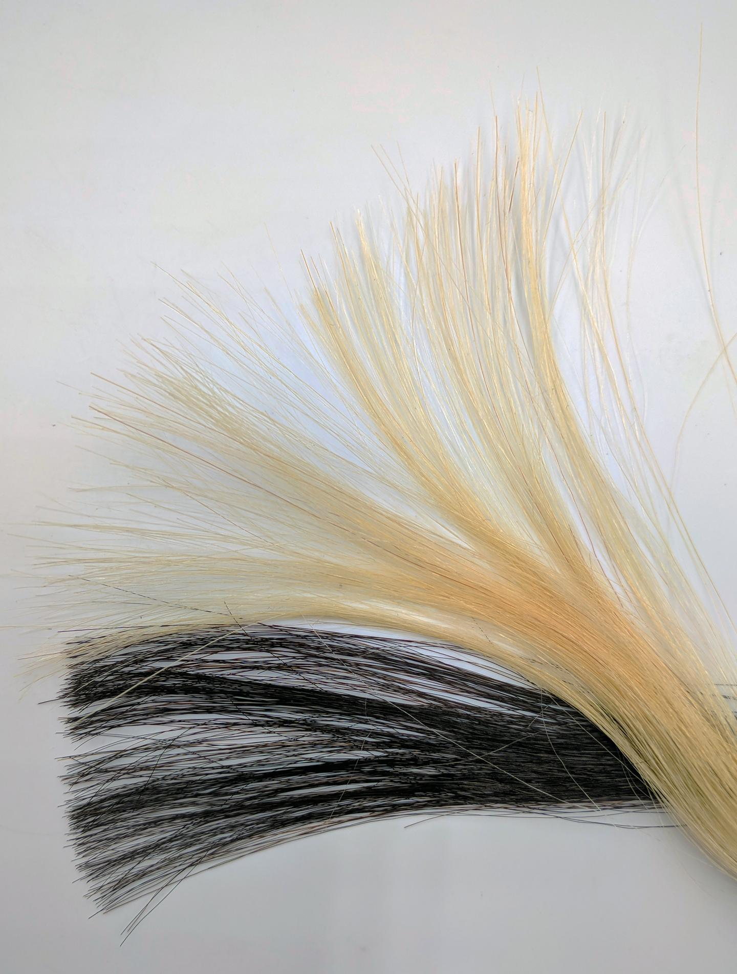 Graphene Dyed Hair