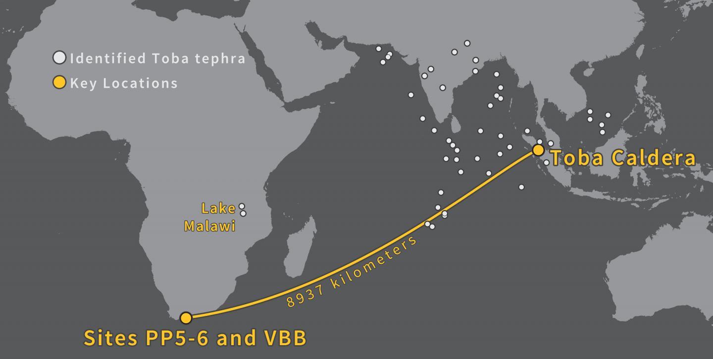 Map of Eruption Disbursement