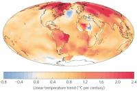 Linear Trends of Surface Temperature for 1901-2013
